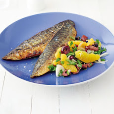 Pan-fried Mackerel With Orange Salsa