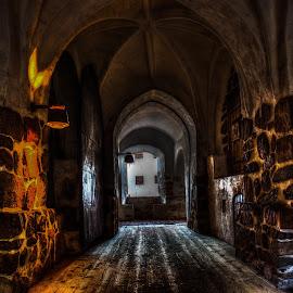 Middle age by Bojan Bilas - Buildings & Architecture Architectural Detail ( building, finand, middle age, castle, architectural detail, turku, architecture, entrance,  )