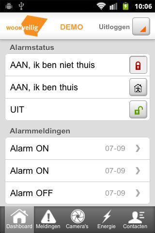 WoonVeilig Alarmsysteem