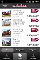 Screenshot of mydeals.cz