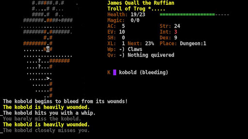 Dungeon Crawl:SS ASCII