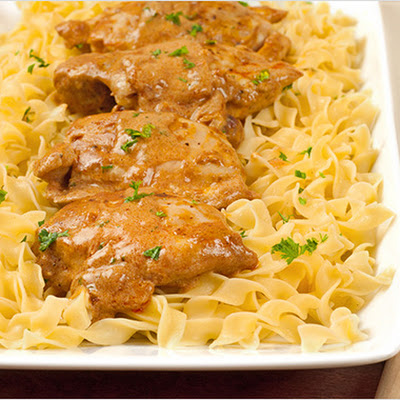 Easy Chicken Paprikas (Paprikash)