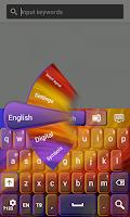 Screenshot of Free Color Keyboard