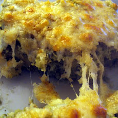 Easy-Cheesy Spinach Casserole