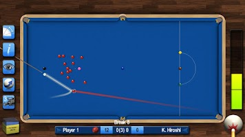 Screenshot of Pro Snooker 2015