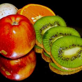 fruits with a mushroom by LADOCKi Elvira - Food & Drink Fruits & Vegetables ( fruits )