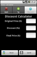Screenshot of YellOut Voice Calculator Free!