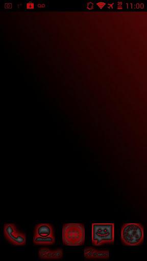 Red Rush for CM9 Theme Chooser