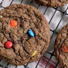 Chocolate M&M Cookie