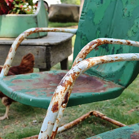 Old Chairs by Lori Kulik - Artistic Objects Furniture ( old, chairs, furniture, antique, Chair, Chairs, Sitting )