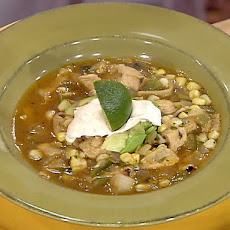 Tortilla Soup with Fire-Roasted Corn and Chipotle Crema