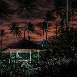 Night Hut by Victor Roman - Buildings & Architecture Architectural Detail ( bagac, agape farms, bataan, fuji xt1 )