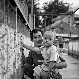 With Grandpa by Putro Asta Nagara - People Family