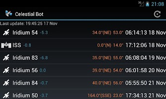 Screenshot of Celestial Bot
