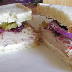Cranberry Turkey Sandwich on Sourdough Non-Dairy