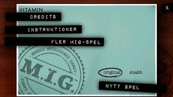 Screenshot of MIG 4 - Frågespel