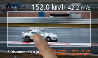 Screenshot of Speed Gun