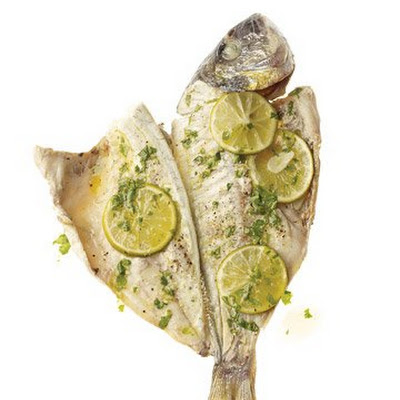 Red Snapper en Papillote with Cilantro-Lime Vinaigrette