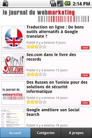 Journal du Webmarketing
