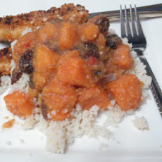 Moroccan Sweet Potato With Couscous