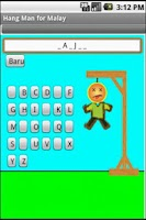 Screenshot of Hangman Free for Malay