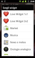 Screenshot of Love Widget Plus