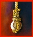 Baseball in a noose