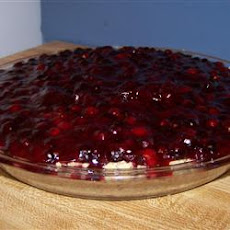 Huckleberry Cream Cheese Pie