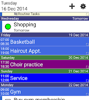 Screenshot of Informant Widget