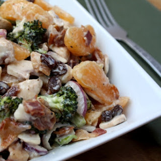 Irresistible Mandarin Roasted Broccoli Salad