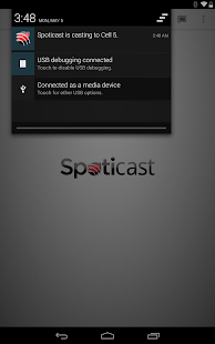 Spoticast Screenshot