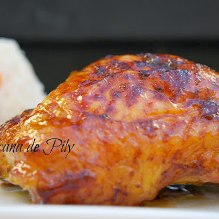 Chicken with Apricot and Habanero