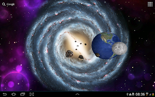 Screenshot of 3D Space Live Wallpaper