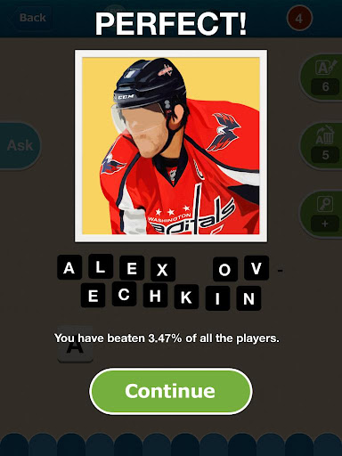 Hi Guess the Hockey Star - screenshot