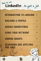 Screenshot of How to use LinkedIn