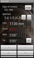 Screenshot of Focus Calculator