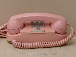 Desk Phones - Western Electric 1702B Pink Princess 1
