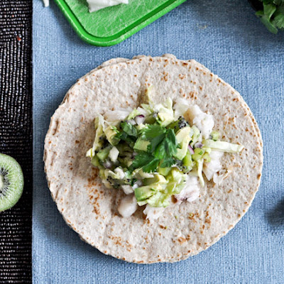 Grilled Coconut Lime Tilapia Tacos