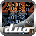 World Clock Live Duo icon