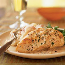 Chicken with Sherry Vinegar Sauce
