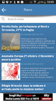 Screenshot of 3B Meteo - Weather Forecasts
