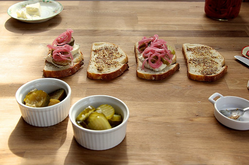 Pickles and Brie Grilled Cheese Recipe   Yummly
