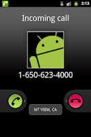 Screenshot of City State Caller ID