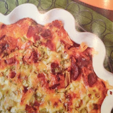 Loaded Hash Brown Quiche: Southern Living