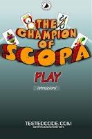Screenshot of Il Campione di Scopa