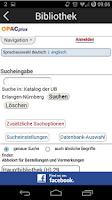 Screenshot of FAU Campus Info - Erlangen/Nbg