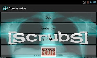 Screenshot of Scrubs Sprüche free