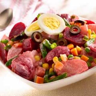 Potato Salad With Beets Recipes