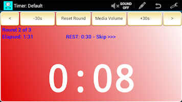 Screenshot of Workout Timer (Free)