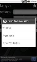 Screenshot of Full Unit Converter